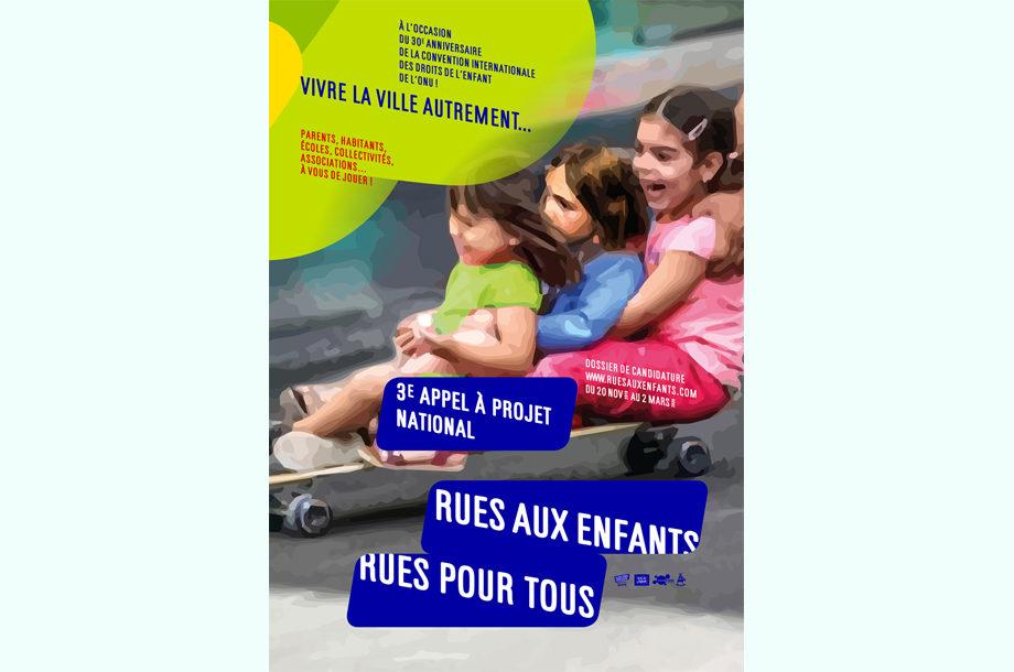 Affiche Rues Aux Enfants Rues Pour Tous