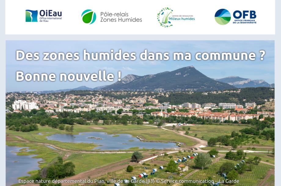 [16 octobre 2020 / Webconférence] Des zones humides dans ma commune ? Bonne nouvelle !
