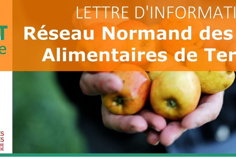 Lettre thématique : Réseau Normand des Projets Alimentaires de Territoire