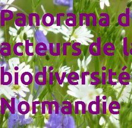 ► Le Catalogue des acteurs de la biodiversité en Normandie