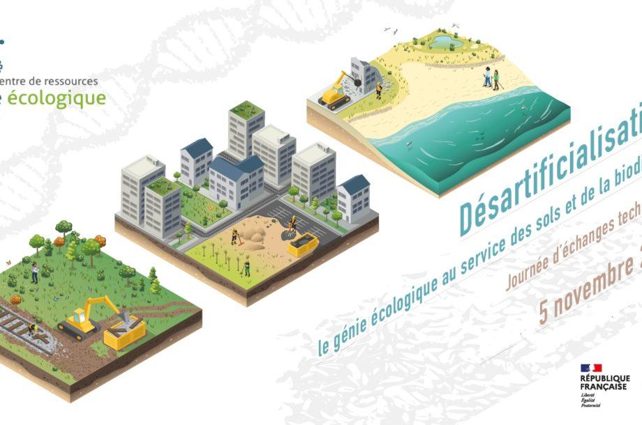 [Journée d'échanges techniques] Désartificialisation : le génie écologique au service des sols et de la biodiversité