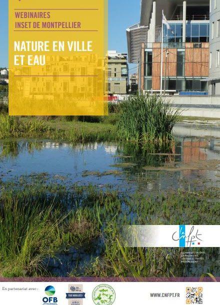 Un programme de 5 webinaires du CNFPT pour mieux comprendre et gérer l'interface Eau / Nature en ville