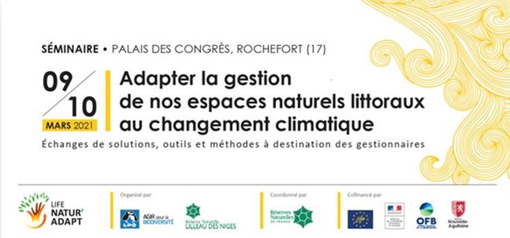 [Séminaire] Adapter la gestion de nos espaces naturels littoraux au changement climatique
