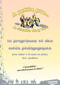A Petits Pas, à l'école on y va !, un outil de sensibilisation pour pérenniser les pédibus