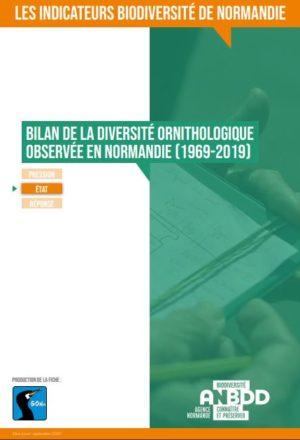 Bilan de la diversité ornithologique observée en Normandie (1969-2019)