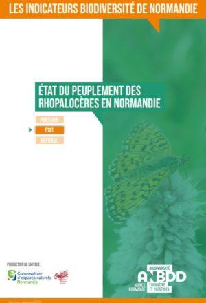 Etat des peuplements de Rhopalocères en Normandie