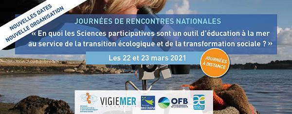 [Webinaire] Journées de rencontres nationales sur les sciences participatives sur la mer et le littoral