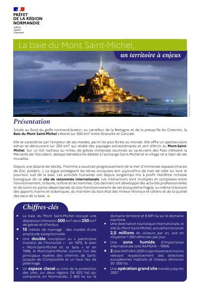 La baie du Mont Saint-Michel, un territoire à enjeux