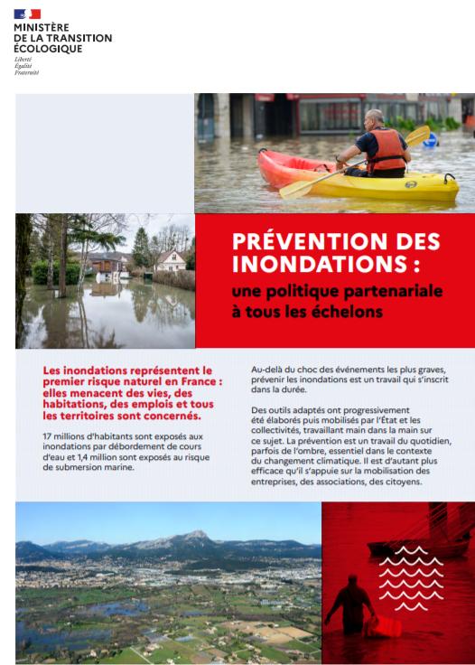 Prévention des inondations : une politique partenariale à tous les échelons