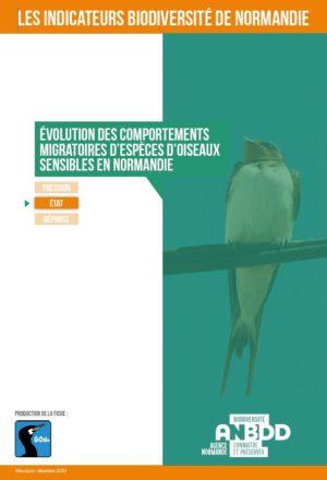Evolution des comportements migratoires d'espèces d'oiseaux sensibles en Normandie