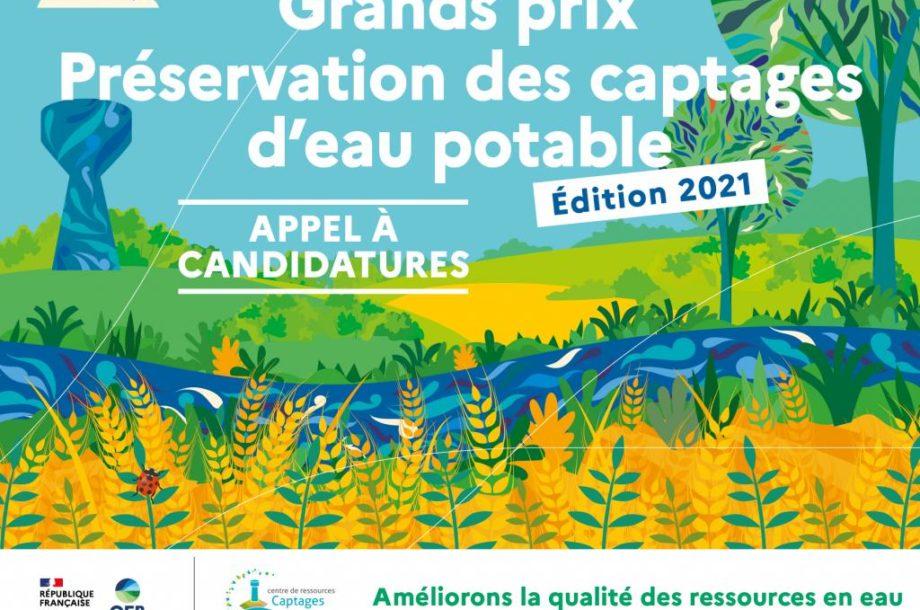 [Appel à candidatures] Grands prix Préservation des captages d'eau potable