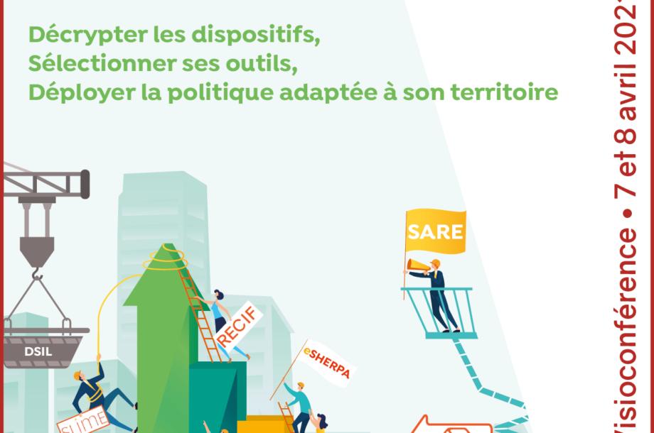 [Colloque en ligne] 2èmes Rencontres des collectivités pour la rénovation énergétique
