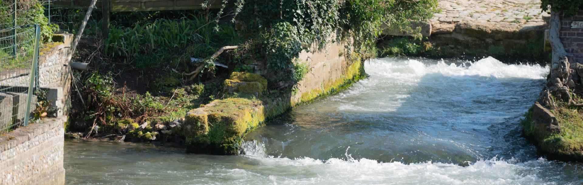 Fragmentation des cours d'eau de Normandie