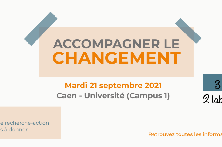 Accompagner le changement : Atelier 3