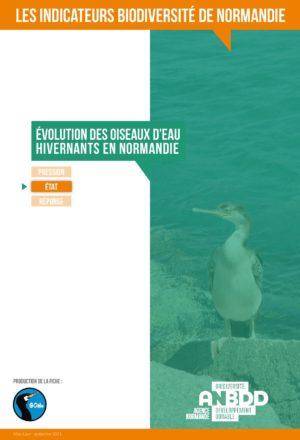 Evolution des oiseaux d'eau hivernants en Normandie