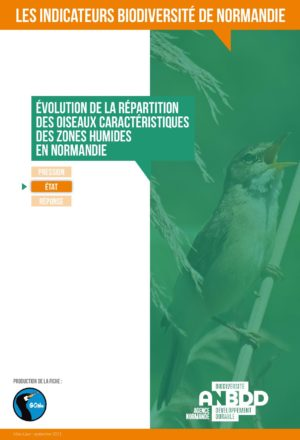 Evolution de la répartition des oiseaux caractéristiques des Zones Humides