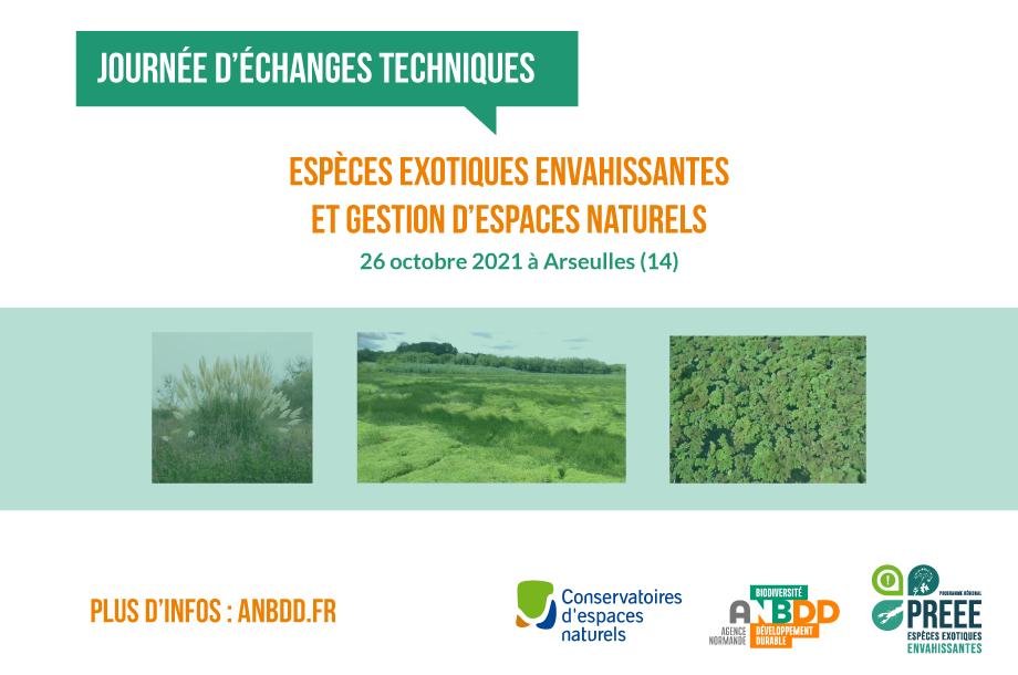 ANNULÉ [Journée d'échanges techniques] Espèces exotiques envahissantes et gestion d'espaces naturels