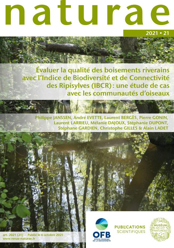 Évaluer la qualité des boisements riverains avec l'Indice de Biodiversité et de Connectivité des Ripisylves (IBCR) : une étude de cas avec les communautés d'oiseaux